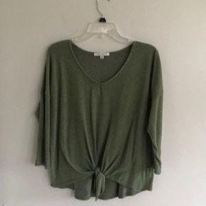 Green sweater size XL